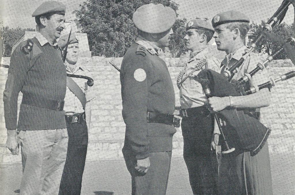 1 R Irish Unficyp Tour Cyprus 1972 Royal Irish